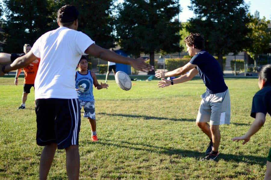 MVHS+alumnus+hosts+summer+rugby+sessions