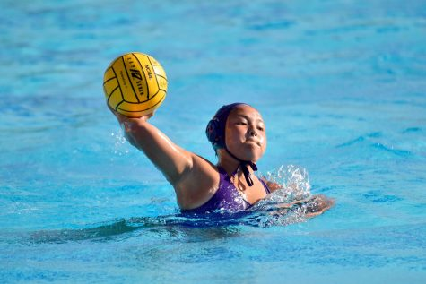 Girls water polo: First home game ends in a big win for team
