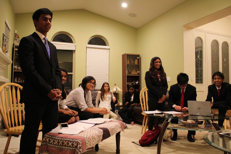 Mock Trial: New co-presidents and officer team
