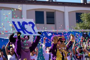 Homecoming unites the school through competition