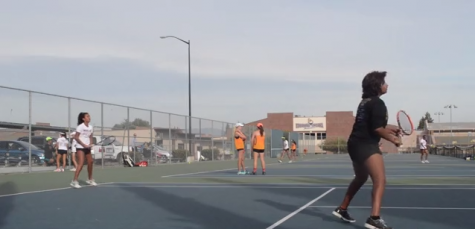 Girls tennis: GIFs from loss against Los Gatos HS