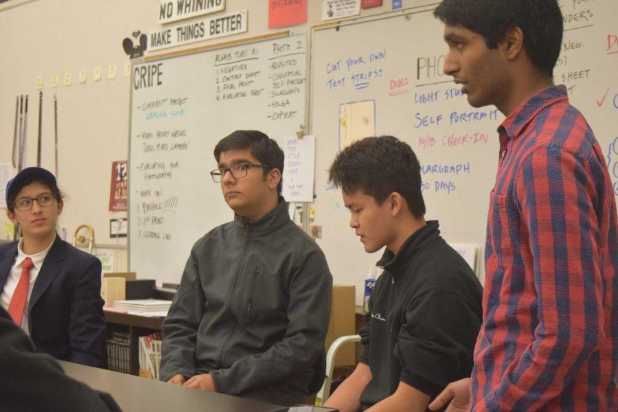 MVJSA holds student-based debate