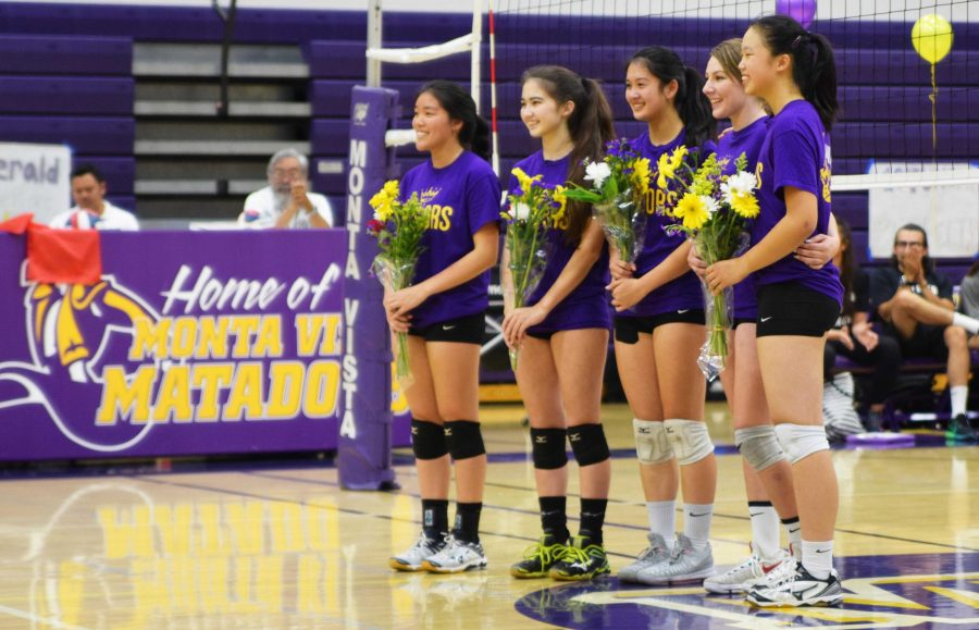 Girls volleyball: Final home game of season brings memories back to senior class