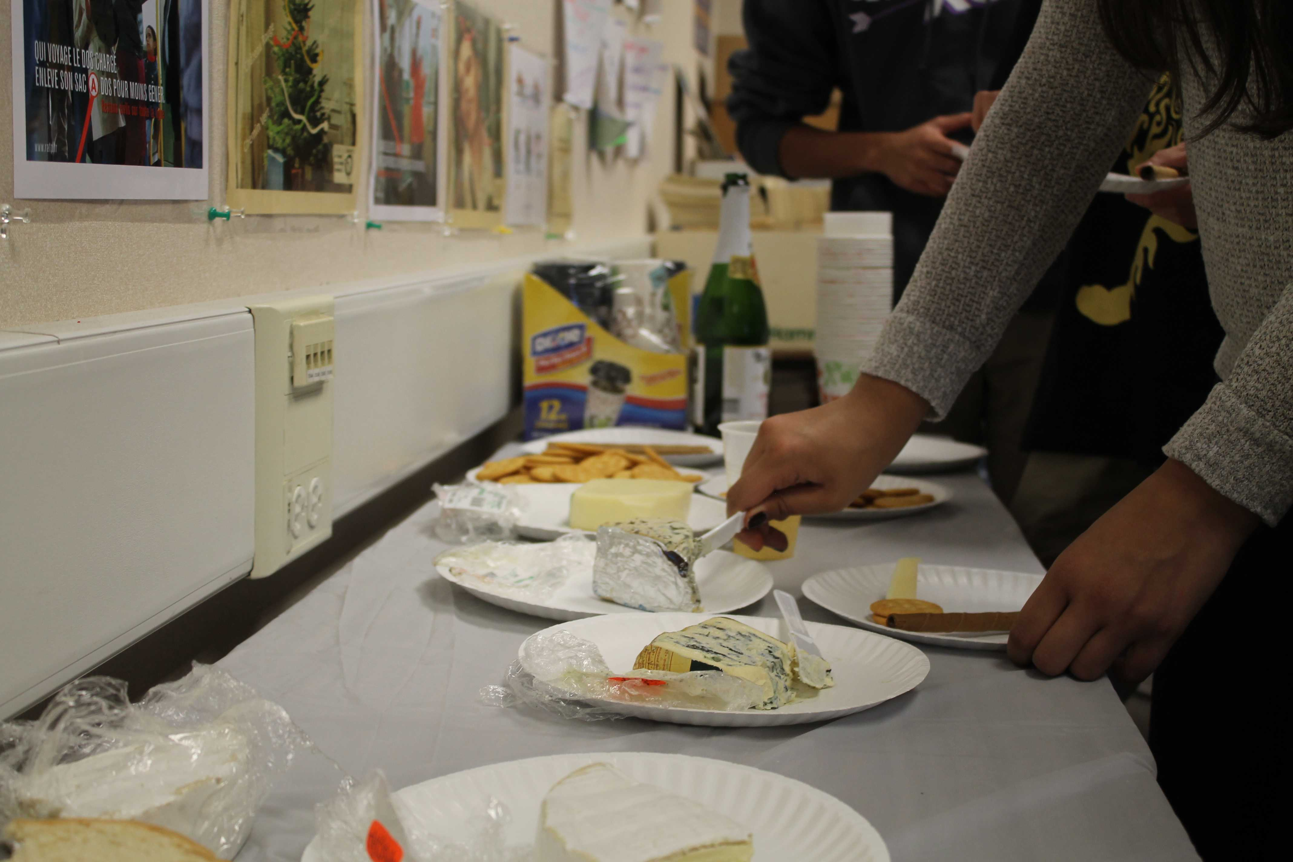 French Honor Society hosts annual Fête du Fromage