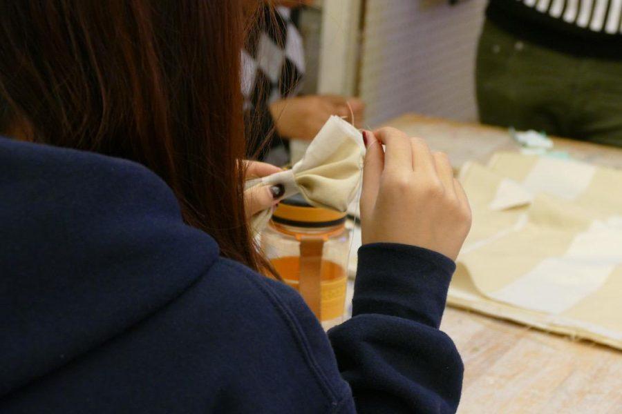 Fashion Club: How to sew a hair bow
