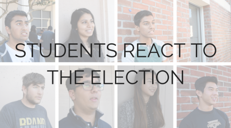 Student reactions to the Presidential Election