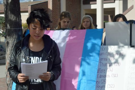 Photo gallery: GSA remembers transgender individuals in academic court