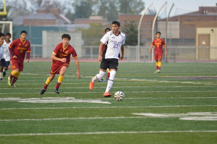 Boys+Soccer%3A+Varsity+boys+pre-season+victory+against+Cupertino+HS