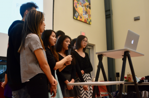 A look back: Japanese National Honor Society hosts first annual karaoke contest