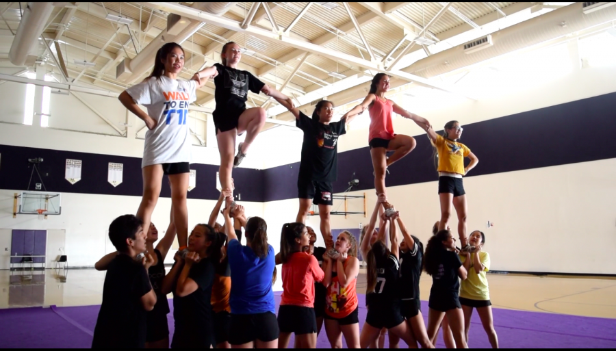 Cheer and Song: A years worth of effort