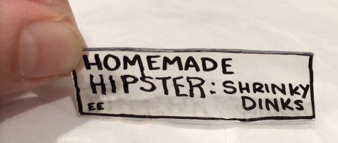 Homemade Hipster: Shrinky Dinks