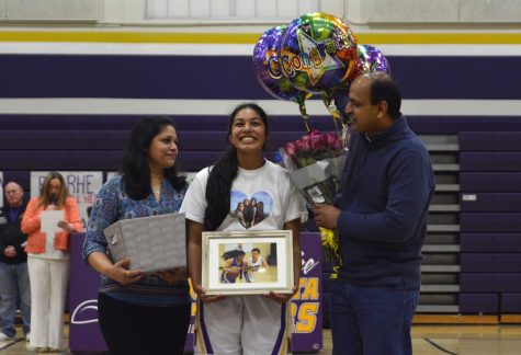 Girls basketball: Team beat by Milpitas HS on senior night