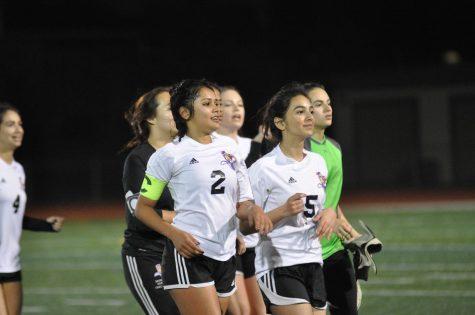 Girls Soccer: Senior night against Los Altos HS