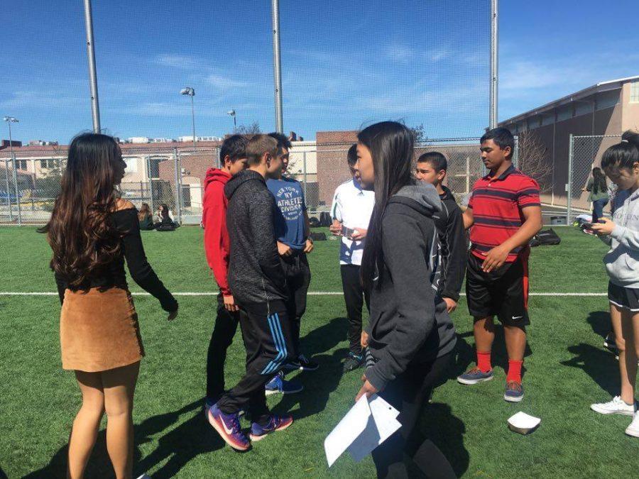 Sophomores prepare for 2017 Powderpuff