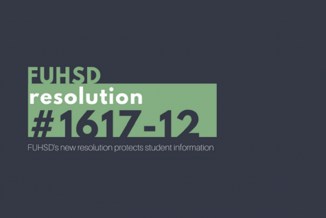 FUHSD adopts a new resolution to protect student information