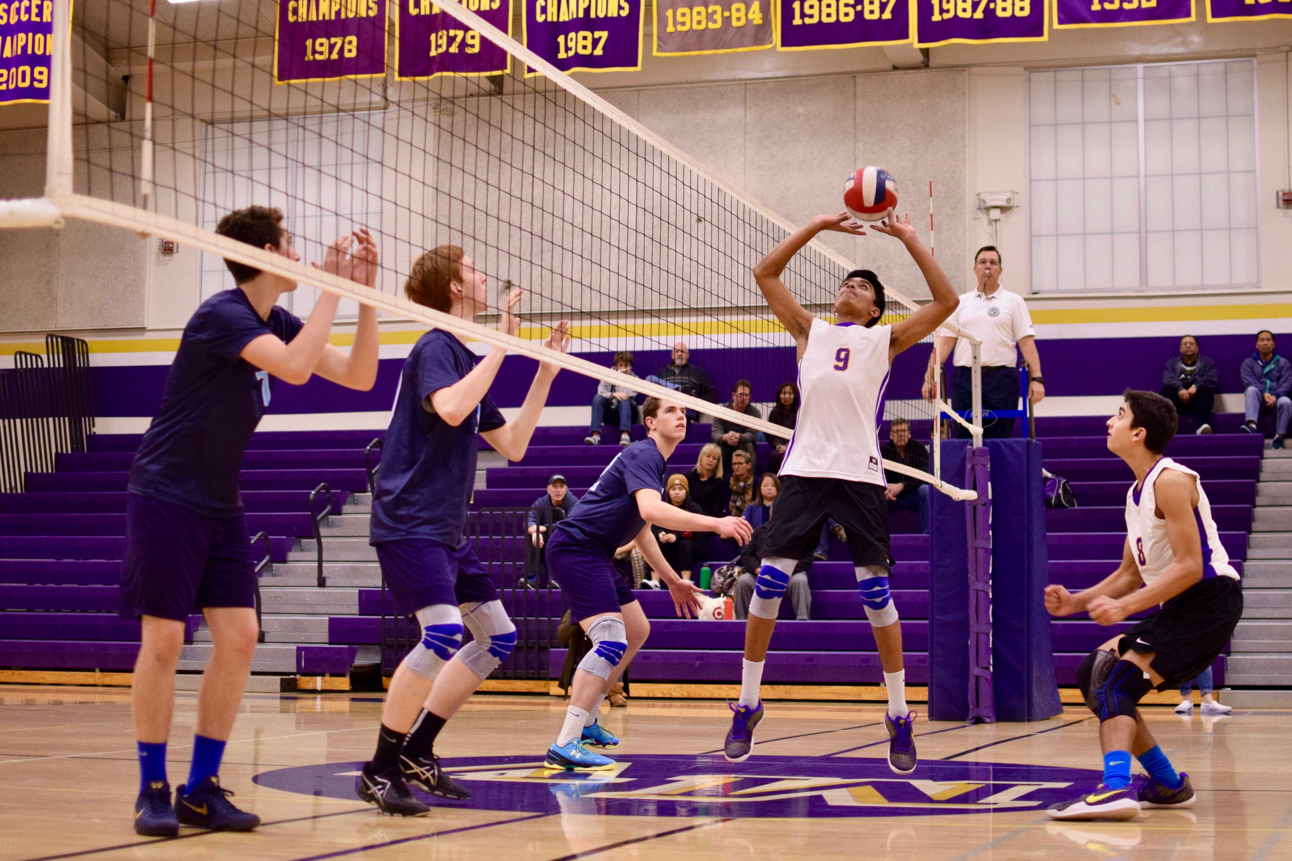 Boys volleyball: Team gets revenge against Bellarmine College Preparatory in season's home opener
