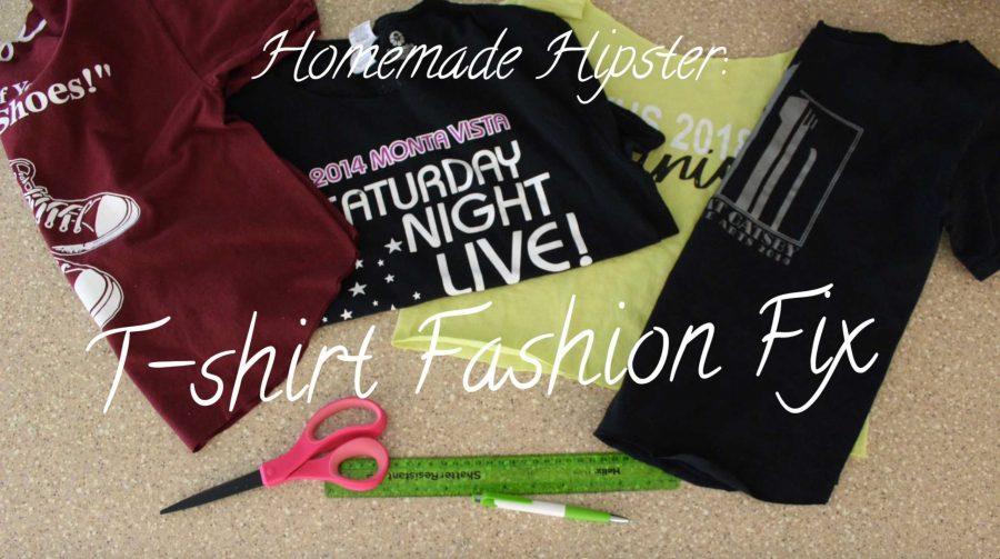Homemade Hipster: Logo t-shirt fashion fix