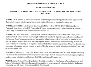 School board members share thoughts on Resolution #1617-12