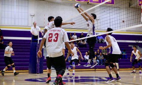Boys volleyball: Despite slow start, team defeats Cupertino HS