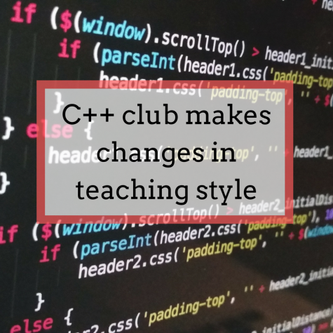 Q&A: C++ club makes changes in teaching style