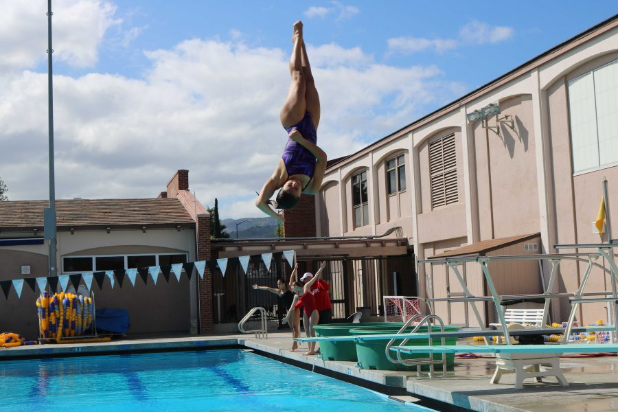 Off the high dive