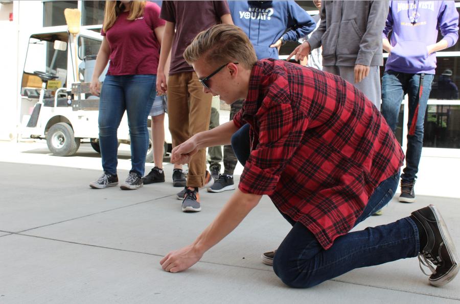 Showcasing skills and thinking on their feet