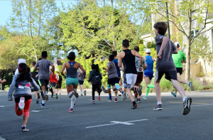 Sunday Project: Sights at the Cupertino 5K Bunny Run