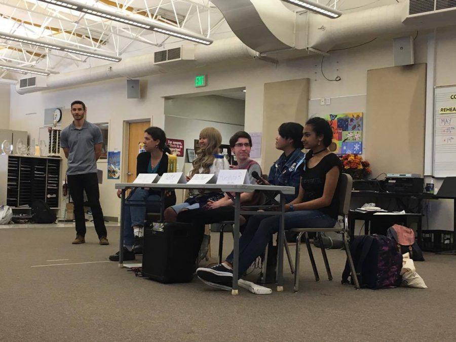 GSA holds panel for freshman biology classes
