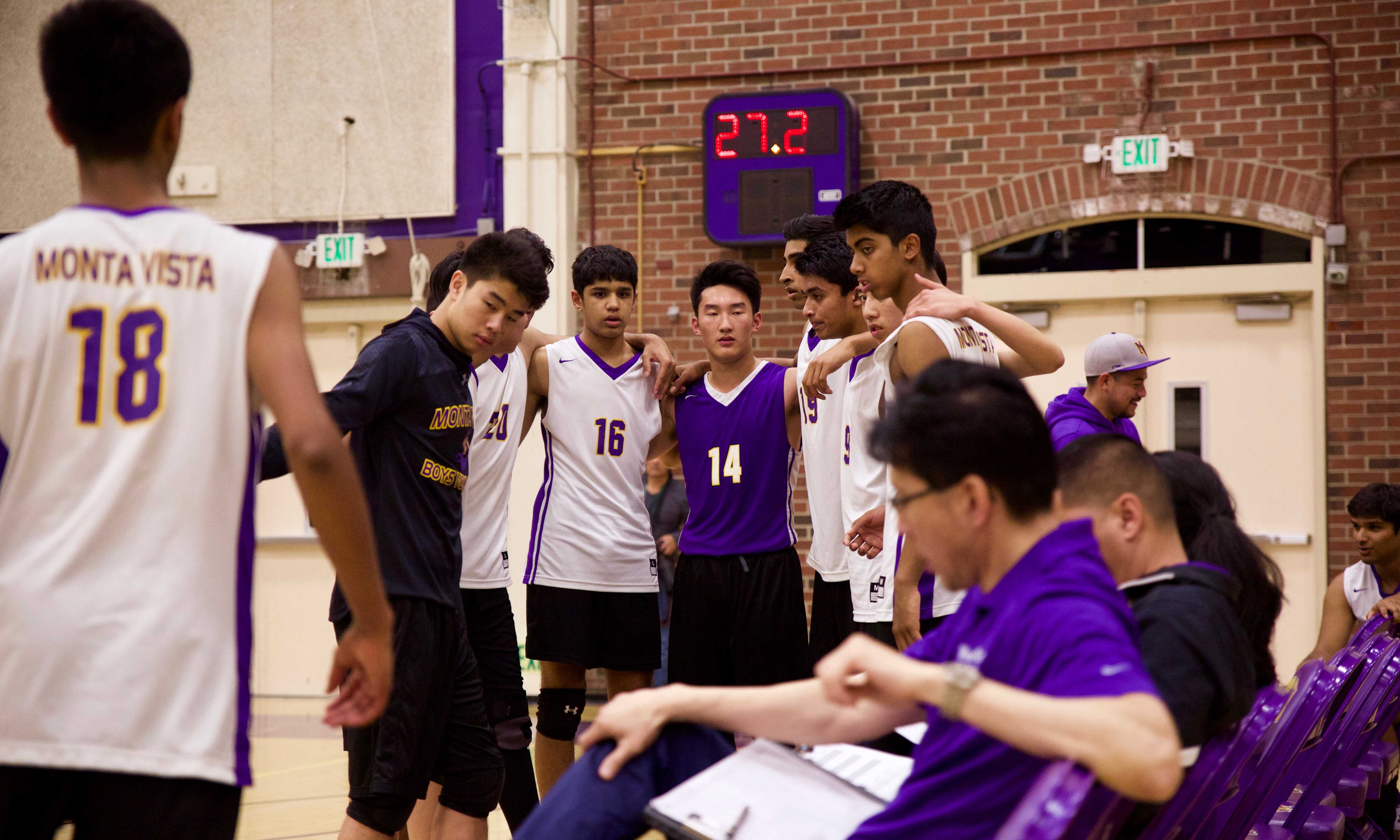 One kill after another: Assistant coach Calvin Wong talks about the volleyball season's success