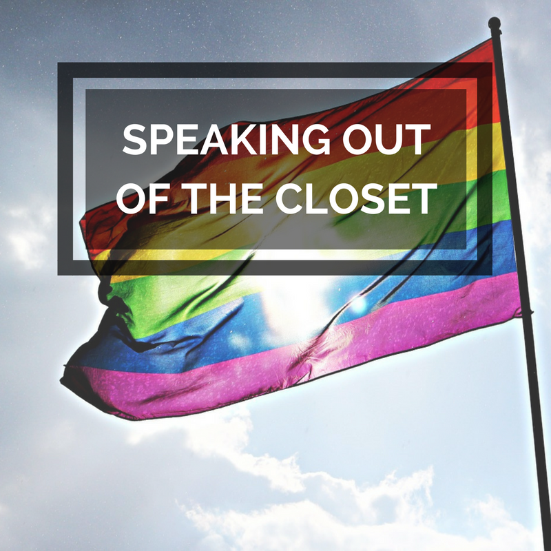 Speaking out of the closet
