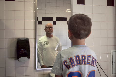 Man in the mirror: kids are losing their childhoods too quickly