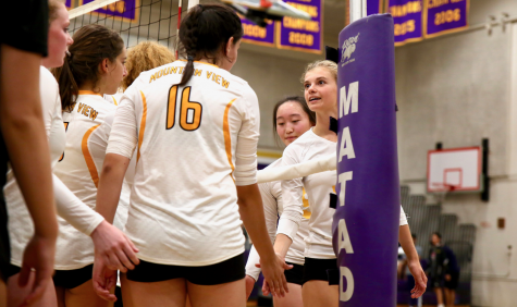 Hear it from the players: Girls volleyball wins first game 3-0