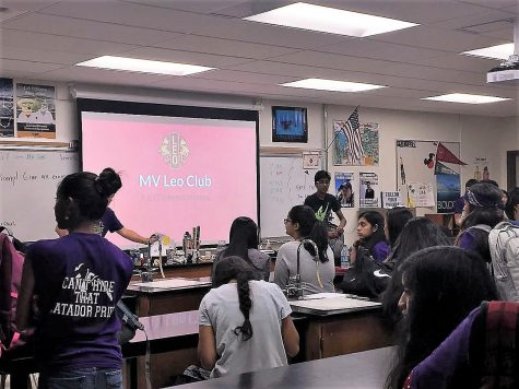 Leo Club holds informational meeting