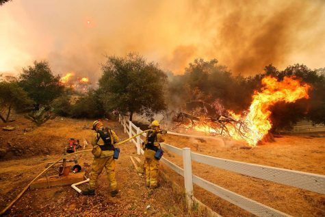 California heat wave: The growing flame