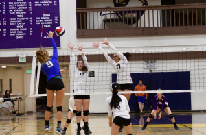 Girls volleyball: Team loses all sets against Los Altos HS