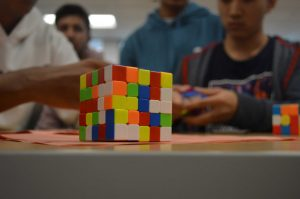 Rubik's Cube Club: Changes and learning experiences