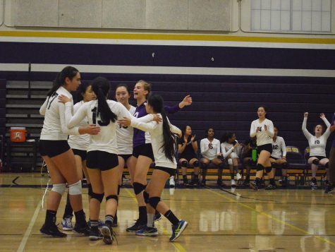 Girls volleyball: Team loses to LHS in four set defensive victory