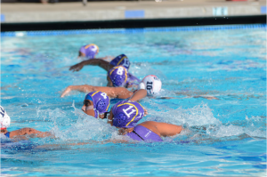 MVHS girls water polo wins game against Lynbrook High School 11-7