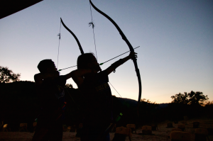 Two arrows, one target: Twins share their passion for archery
