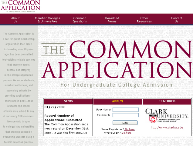 What colleges want in students applying
