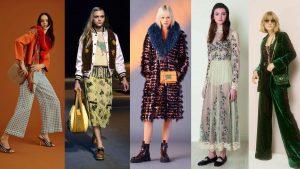 Fall fashion throughout the decades
