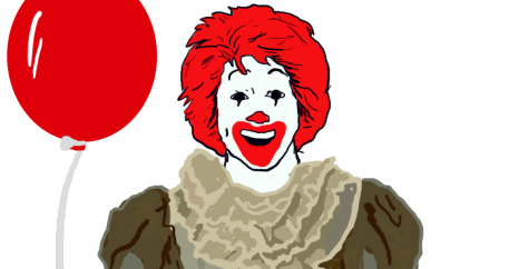 Not 'It': Russian Burger King accuses the movie 'It' of being an ad for McDonald's
