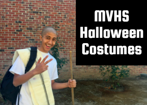 Halloween costumes around MVHS