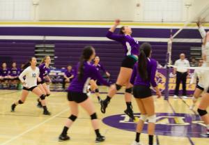 Girls volleyball: Team wins first round of CCS playoffs