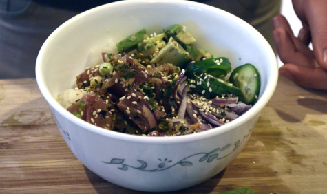 Homemade Hipster: Poke bowl