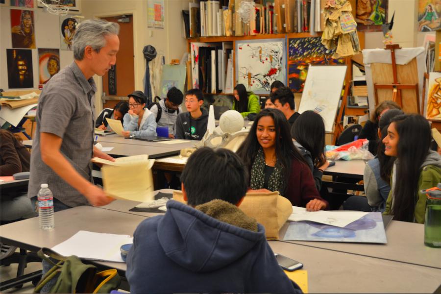 Art portfolio workshop held for students on Nov. 8