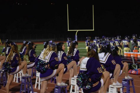 MVHS Cheer, Song and Marquesas senior night