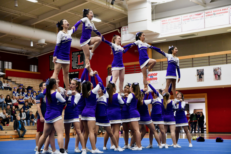 In the spirit: cheer and song prepare for competition season