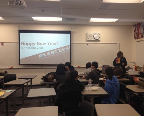 Korean Club holds its first meeting of the new year
