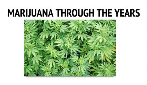 Marijuana through the years